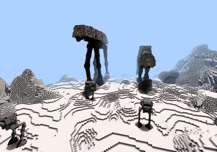 карта star wars для minecraft pe #11