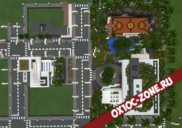 скачать карту для майнкрафт современная деревня - фото 9