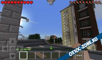 Приключение в Ghost city [Minecraft PE]