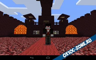 Адский форт [Minecraft Pocket Edition 0.14.0]