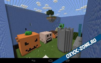 Карта прятки 2 [Minecraft PE 0.14.0]