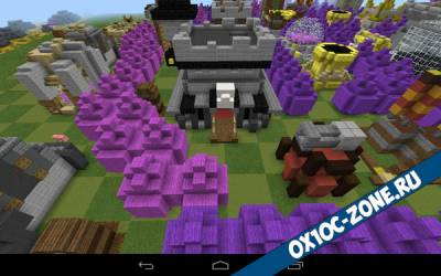 Прятки clash of clans [MCPE 0.14.0]