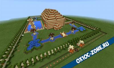 Домик от роао. Часть 2 [Minecraft Pocket Edition 0.14.1 / 0.15.0]