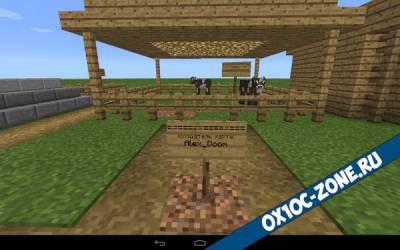 Выживание в плоском мире [Minecraft PE 0.14.2]