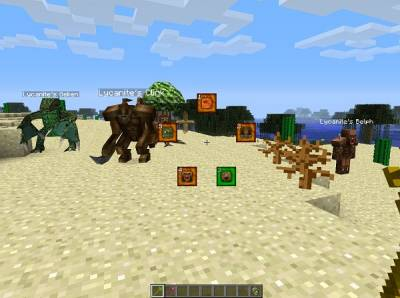 Lycanite's Mobs для minecraft 1.9