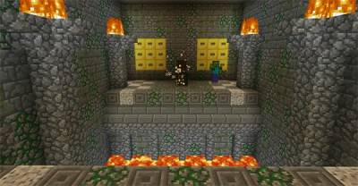 Карта Tomb Crafter 4 : Illuminati - for MCPE 0.14.2