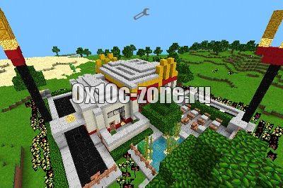 Скачать MineDonalds [1.6.4] - МакДоналдс для игры в minecraft
