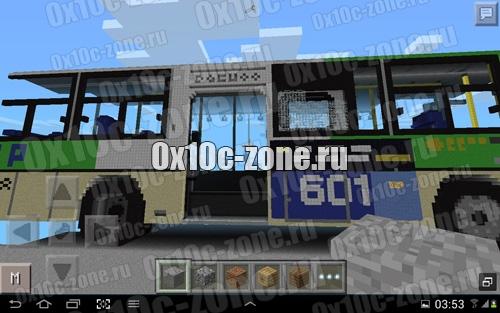 скачать карту автобус для майнкрафт - фото 9