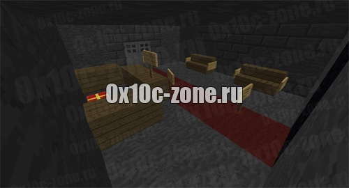 Майнкрафт пе карта бункер